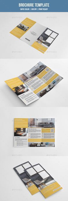 Product Trifold Brochure Indesign templates, Brochures and Adobe - trifold indesign template