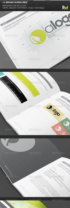 EPS Brand Guidelines - 20 Pages Template • Only available here ...