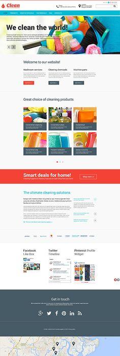 Ice-Cream Website Template | HTML Website Templates | Pinterest ...
