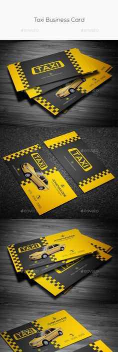 Taxi business card business cards business and logos want to learn how to create amazing business cards download for free the complete reheart Images