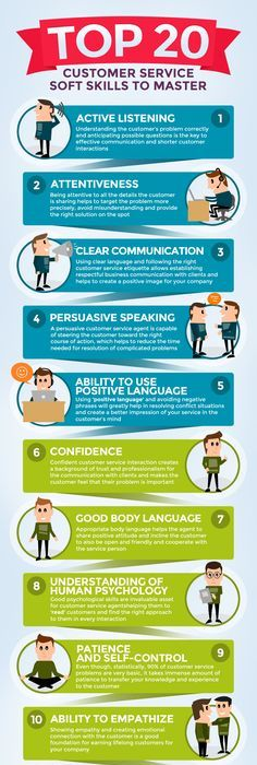 25 skills for excellent customer service #work #competence | School ...