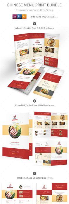 Italian Restaurant Trifold Menu | Menu templates, Menu and Print ...