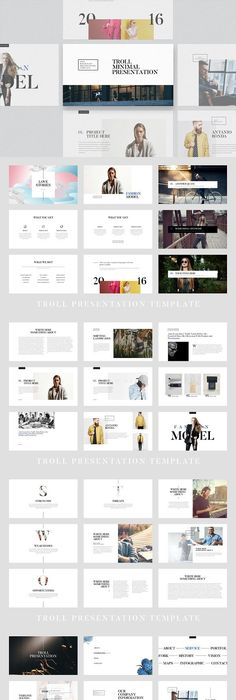 Anseris - Minimal Powerpoint Template Minimal, Template and Industrial