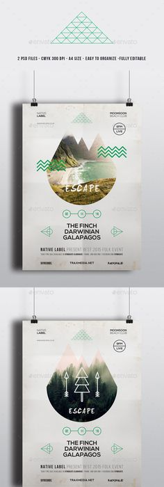 Great Flyer Designs For Inspiration  Party Flyer Fonts And