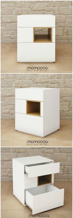 Colección DANIELA Mesa Daniela Mueble sencillo y elegante, de - mueble minimalista