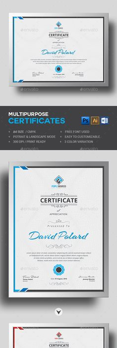 Easy Simple Multipurpose Certificate Gd  Certificate Design