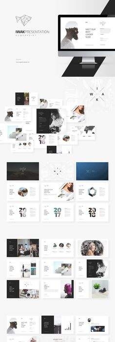Presentation Template  Funky  Bright Presentation  Powerpoint