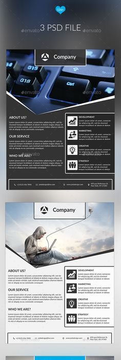 Corporate Flyer Design  Business Flyers Flyer Template And