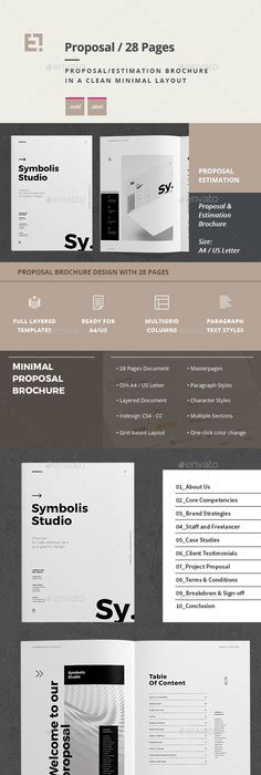Mobile Marketing Proposal Template Indesign Indd  Corporate