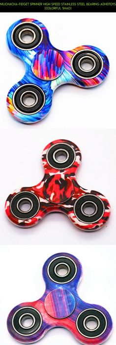 Hand Tri Fid Spinner EDC Toy With 608 SI3N4 Ceramic Bearings