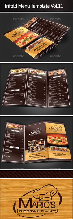 RestaurantMenuTemplate  Graphic Design L