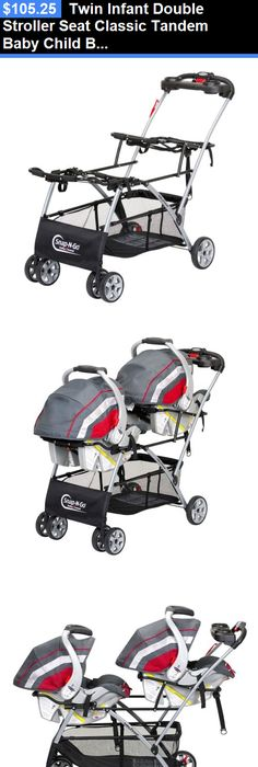 Graco Double Stroller/Twin Stroller with 2 Car Seats Included Travel ...