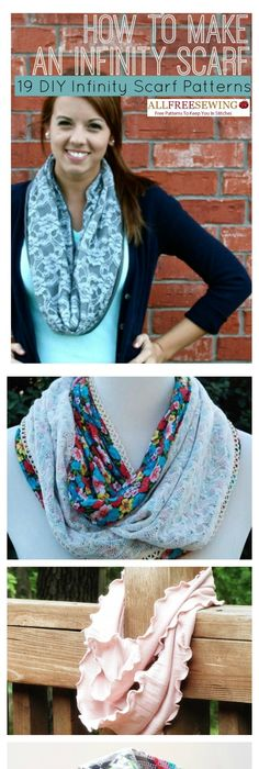 15 Minute Infinity Scarf Pattern | Scarf patterns, Diy scarf and ...