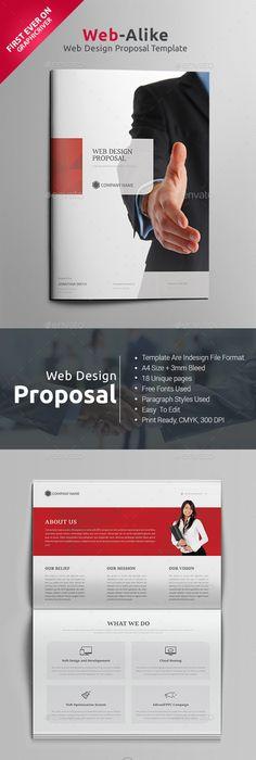 Proposal Template | Proposal templates, Proposals and Template