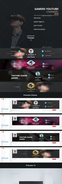 Creative YouTube Art Banner Banners Creative And Banner Template - Youtube ad template