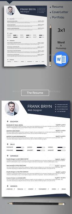 Mono Resume  Adobe Indesign Adobe And Illustrators