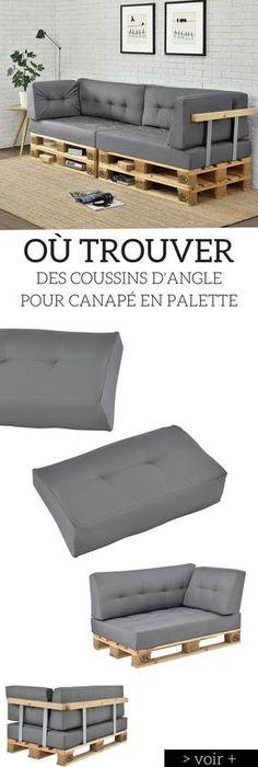 tuto un canap d angle en palettes angles palette et canap s. Black Bedroom Furniture Sets. Home Design Ideas