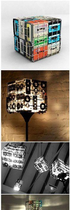 décoration, DIY, lampe, luminaire, pvc Luminaires extérieur