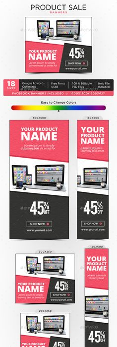 product sale banners bundle 4 sets sale banner banners and template