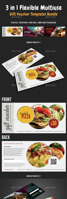 Food Gift Voucher  Food Gifts Template And Graphics