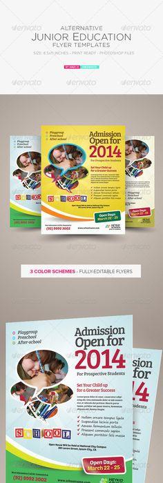 Pre school flyer work pinterest pre school map design and junior education flyers fandeluxe Choice Image