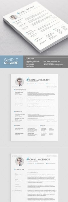 Check out swiss style resumecv set template by snipescientist on resume template download cv template resume templates resume cv resume design app design simple resume career curriculum yelopaper Gallery