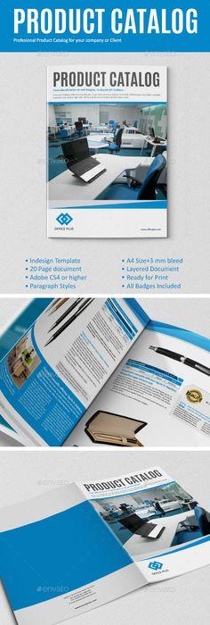 Auto Parts Catalog Bi Fold Brochure Template Vol2 Brochure