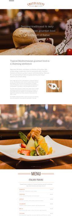 Fudge house website design web design restaurant food loving this crisp serif font jubilant to give an elegant feel in this one page serif fontfood sitesmobile forumfinder Image collections