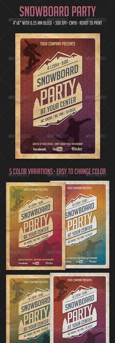 Vintage Cinema FlyerPoster  Flyer Printing Print Templates And