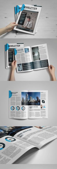 Free Magazine Indesign Template For Editorial Project
