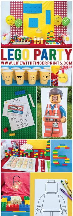 The ultimate list of LEGO® party games | Lego party games, Lego ...