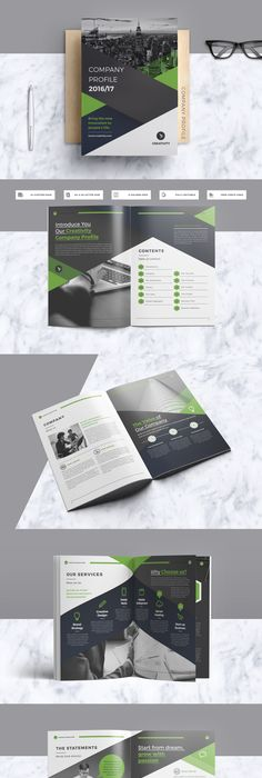 Company Profile Template  Pages Indesign Indd A  Corporate