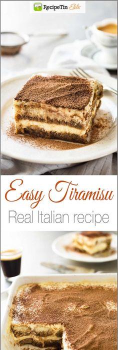 Easy Tiramisu (Chef