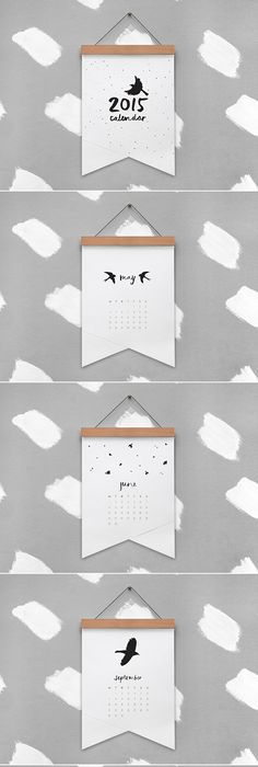 Quarterly Calendar Rachel Topf Calendar Design Project