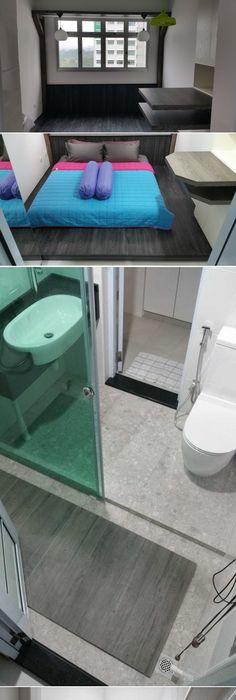 Hdb Two Room Bto 47: HDB 2 Room BTO For Singles. 47sqm Apartment Interior