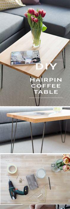 DIY Möbel und Wohnaccessoires aus Holzklötzen Interiors, Woods and - couchtisch aus massivholz 25 designs