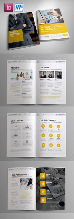 Report Template  Brochures Template And Brochure Template