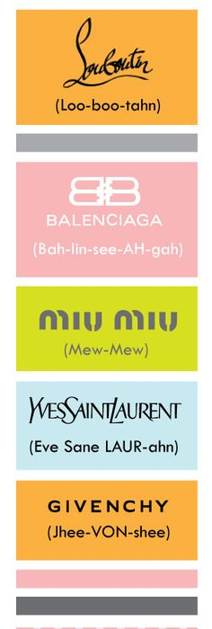 Pin by Gail LaFlamme on Designer Names / Fashion Pinterest Designers - ral color chart