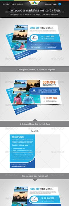 Charity Postcard Templates Postcard Template Template And - Postcard flyer template