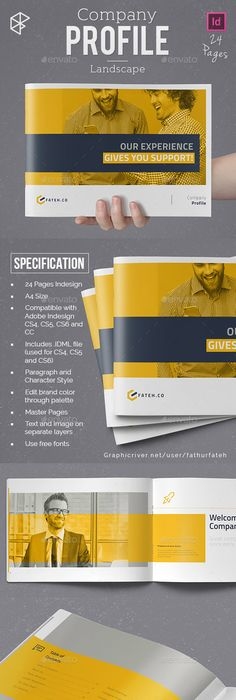 Company Profile Brochure Company Profile Brochure Template And - Company profile brochure template
