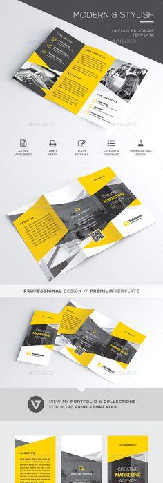 Corporate Bifold Brochure Corporate Brochure Brochures And
