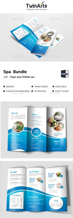 Trifold Brochure Template Brochure Template Brochures And Template