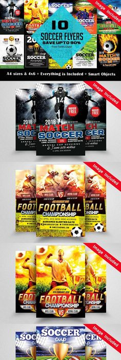 Free Inkscape Soccer Clinic Flyer Template  FlyertutorCom Http