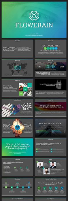 Clean Bold PowerPoint Template   Template, Powerpoint themes and ...