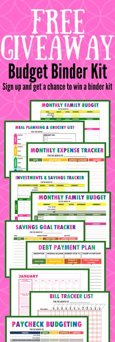 Free Printable Monthly Bills Organizer  Logs Free And Budgeting