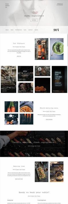 Sushi Restaurant WordPress theme by neuethemes on @creativemarket ...