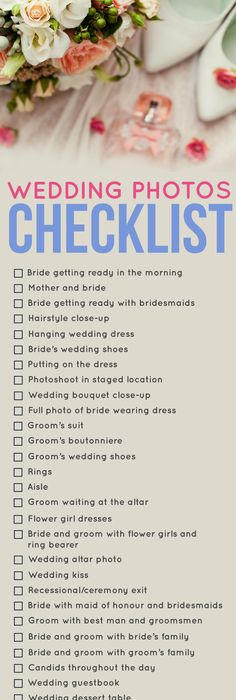 How To Narrow Down Your Wedding Guest List  Guest List Check