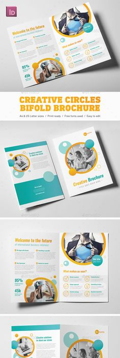 Co Brochure Template InDesign INDD 16 Pages | Brochure Templates ...
