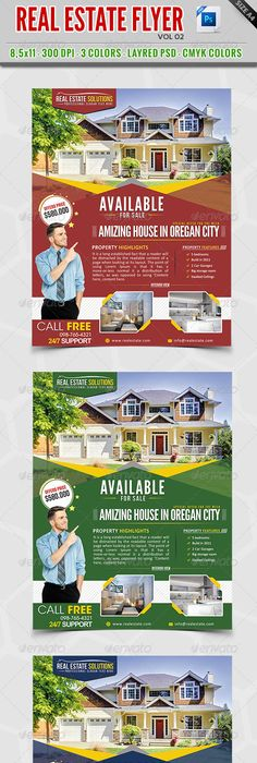 Real Estate Flyer / Magazine AD   Real estate flyers, Magazine ads ...