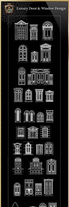 luxus t r fenster free cad blocks zeichnungen download center pinterest cad zeichnung. Black Bedroom Furniture Sets. Home Design Ideas